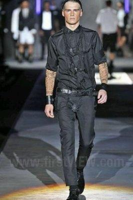 Dsquared 2 Black tuxedo Biker Trouser size 46 稀有珍藏品*歐洲在線*