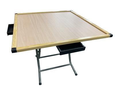 【宏品二手家具】推薦台中全新中古傢俱 家電 最便宜 E60101B*麻將折桌*各式桌椅 折桌 麻將桌 餐桌 茶几 書桌