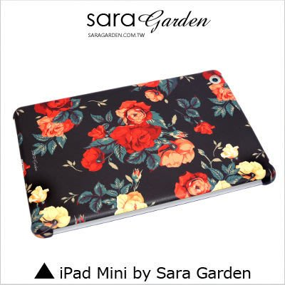 iPad Mini 1 2 3 4 客製化 保護殼 碎花玫瑰花【G0101731】