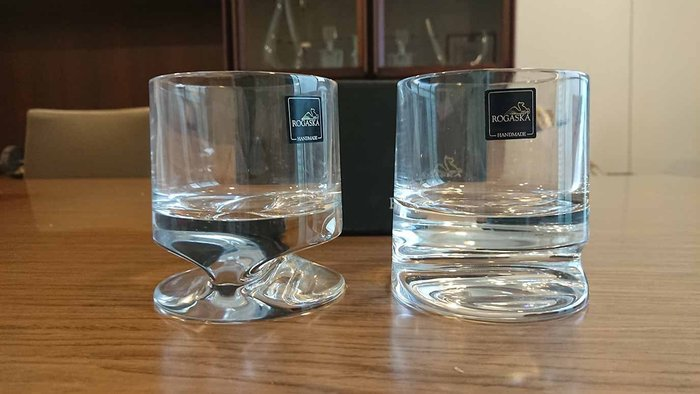 《Topluxurydesign》歐洲原裝進口 ROGASKA 水晶水杯 一組兩入