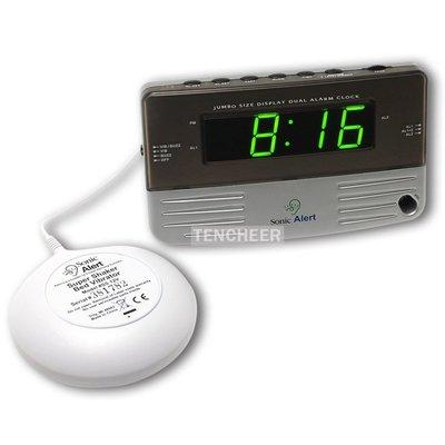 <TENCHEER> Sonic Alert SB200SS 震動鬧鐘 (含振動器)(全新盒裝) Bomb Boom 音波炸彈 鬧鈴 靜音 提醒器 SB200