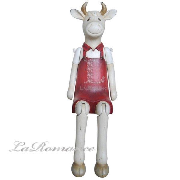 【芮洛蔓 La Romance】德國 Heidi 童趣家飾 - 歡樂農場淑女牛 / 動物擺飾 / 小孩房 / 庭院