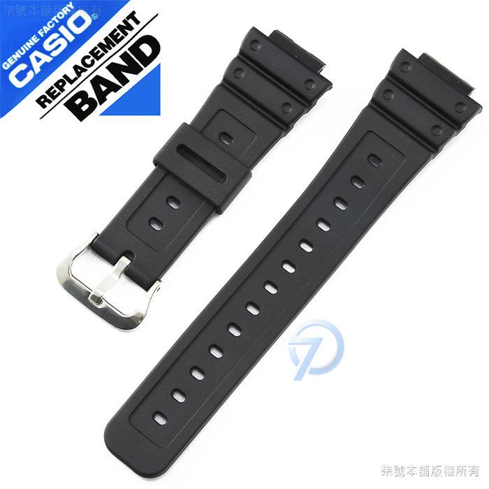 【柒號本舖】CASIO G-SHOCK 原廠錶帶-黑 DW-5600BB / DW-5600E / DW-5700 專用