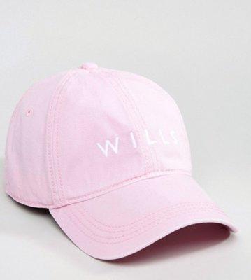 當日寄出[現貨] 英國代購 英國Jack Wills BONFIELD 棒球帽 淡粉紅