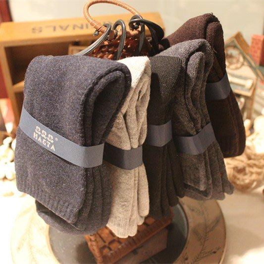 日本秋冬男毛襪 加厚保暖素色男士中筒襪 加厚 保暖 兔羊毛日本男襪 保暖襪 日本厚襪 6雙890元