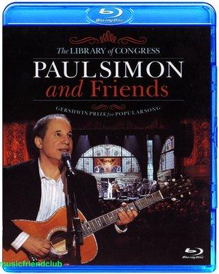 高清藍光碟 Paul Simon And Friends The Library of Congress  (藍光BD25G)