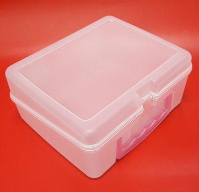 【五旬藝博士】半透明手提工具盒 多用途收納盒 手提工具箱 耐用 好看 品質好 台灣製造-LH