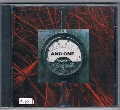 [鑫隆音樂]西洋CD-冠軍AND ONE:ANGUISH  [MA52]全新/免競標