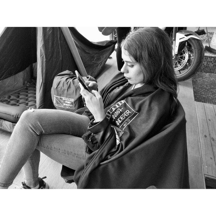 【Anima Wanderer】睡袋式毛氈 露營 野營 戶外個人毯 【露戰隊】