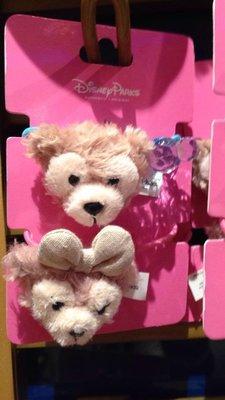 [H&P栗子小舖]香港迪士尼限定 達菲 雪莉玫 髮圈 Duffy髮飾 迪士尼髮圈 現貨 生日禮物 交換禮物