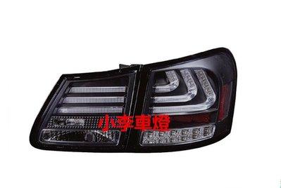 ~李A車燈~全新品 外銷精品件LEXUS GS300 GS350 GS430 GS450 06~11 LED光柱燻黑尾燈