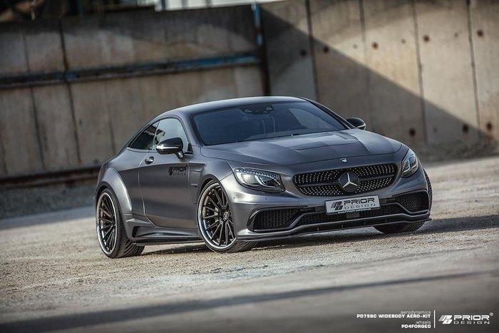 【樂駒】PRIOR DESIGN PD75SC Mercedes BENZ C217 S-Class Coupe 寬體