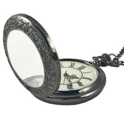 羅馬懷錶男學生創意項鍊錶復古翻蓋電子石英時尚鏤空簡約女士防水
