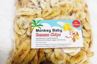 長灘島三寶:猴寶貝黑糖椰香香蕉脆片x2包,7D芒果乾,椰子油!香脆蕉片香蕉乾(菲律賓宿霧薄荷島手信伴手禮) 台北市