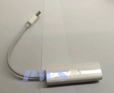☆【APPLE 蘋果 原廠 USB 乙太網路轉換器】展示品 A1277