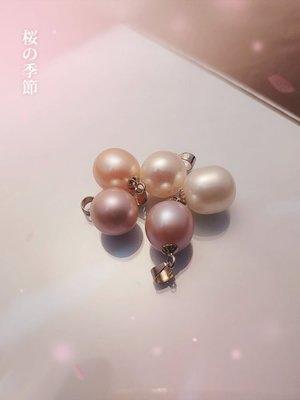 Silver 淡水珍珠 10-10.5mm 單顆[ pp 004 ]