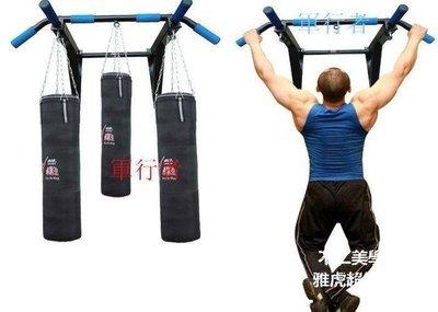 【格倫雅】^ 回饋價 3代卓牌牆體單杠 室內引體向上器牆上單杠沙袋架子家用健身器材50