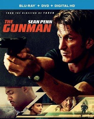 【藍光電影】臥底槍手 (2015) The Gunman  西恩 潘 首部動作猛片 杜比全景聲 75-003