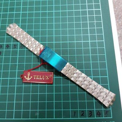 日本 TELUX 不銹鋼錶帶 男錶 用 另有 石英錶 飛行錶 水鬼錶 軍錶 機械錶 三眼錶 陶瓷錶 G04