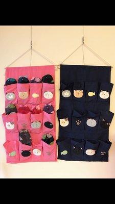 日本卡拉貓~12格鞋收納掛袋