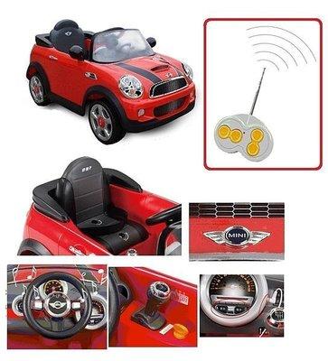 ☘ 板橋統一婦幼百貨 ☘ Mini Cooper兒童電動車BMW原廠授權兒童搖控電動車 / 雙驅馬達