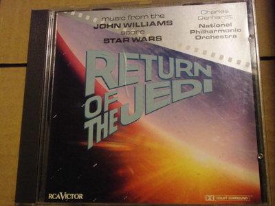 The Return of Jedi (Star Wars VI) 星際大戰-絕地大反攻 電影配樂 約翰威廉斯 德版