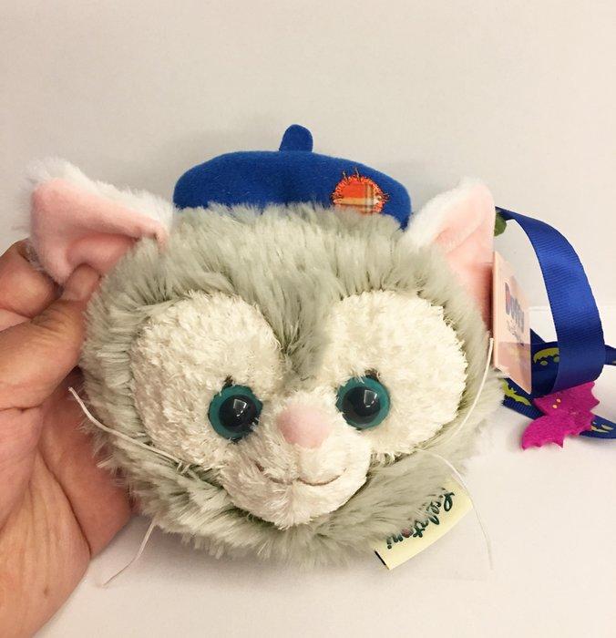 ^燕子部屋 ^ 香港迪士尼 Gelatoni畫家貓 零錢包附掛繩帶