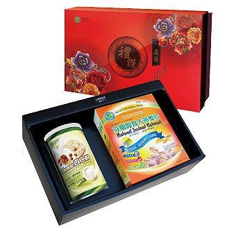 《小瓢蟲生機坊》綠源寶 - C-6大燕麥片杏仁粉禮盒 燕麥片 杏仁茶 沖泡類 麥片 禮盒 伴手禮 禮物