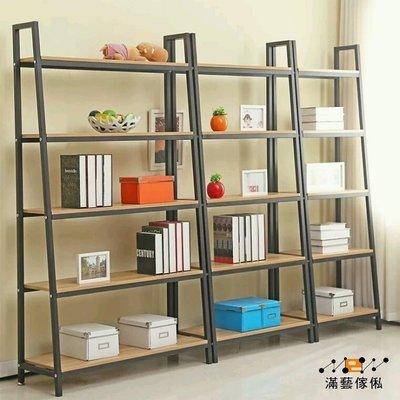 〈滿藝訂制傢俬〉246新款簡易書架 落地置物架 鋼木組合儲物架 陳列架 貨架 展示架 書櫃 可量身訂做