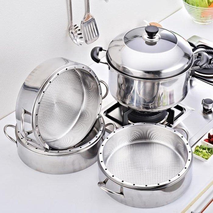 蒸籠/蒸鍋 蒸飯鍋不銹鋼節能蒸鍋無孔蒸籠加厚3層四層家用蒸飯鍋sys