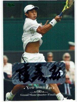2012 ACE Tennis 盧彥勳 【YEN-HSUN LU】親筆簽名卡