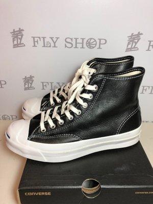 [飛董] CONVERSE PURCELL SIGNATURE 開口笑 皮革 休閒鞋 153586C 黑白