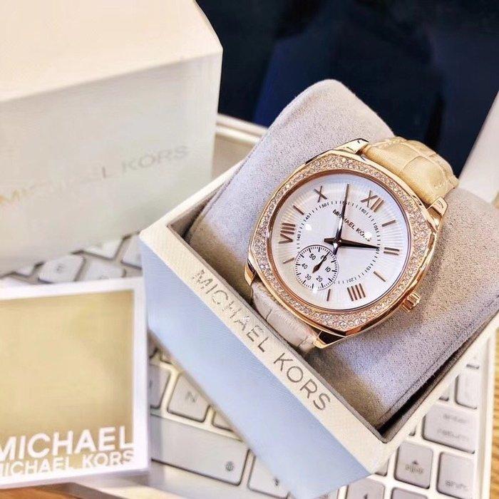 【Michael Kors代購館 】美國正品MK2388 經典水鑽大錶手錶 最潮流羅馬石英女錶 促銷特價款