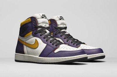 【紐約范特西】預購 Jordan 1 Retro High OG Defiant SB Lakers CD6578507