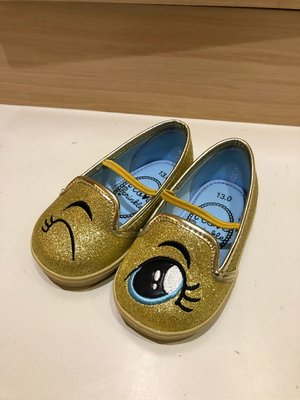 I love sprinkle 金色眨眼鞋