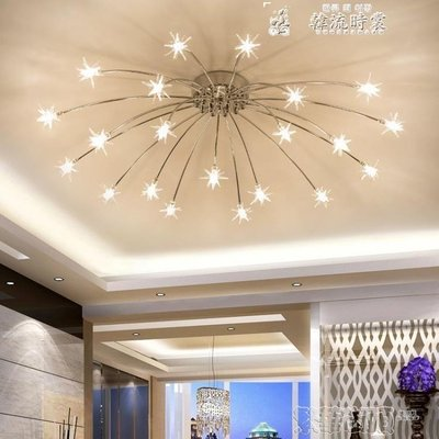 吸頂燈簡約北歐燈具現代簡約led吸頂燈創意個性客廳燈家用兒童房溫馨臥室燈 LX