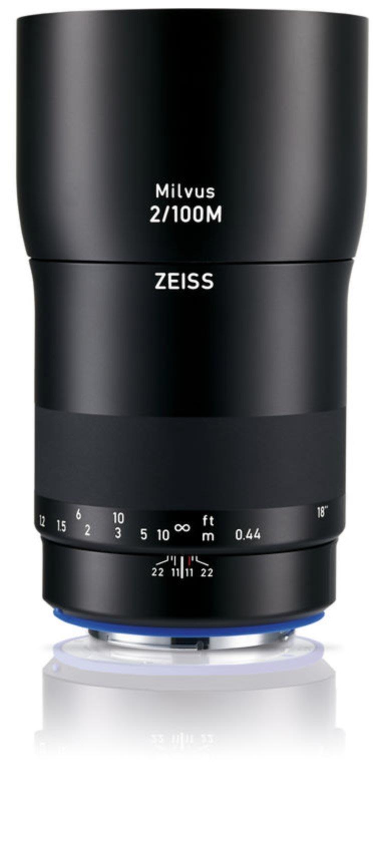 九晴天 租鏡頭 租相機 出租~ZEISS Milvus 100mm f2 Macro (Canon EF)
