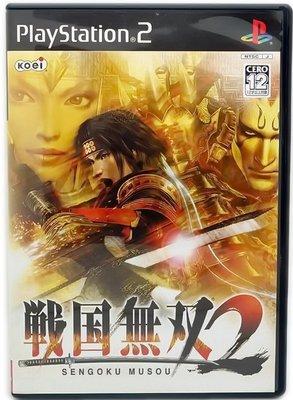 【二手遊戲】PS2 戰國無雙 SENGOKU‧MUSOU 日文版【台中恐龍電玩】