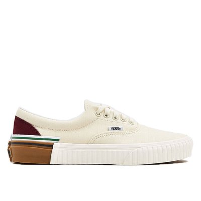 【A-KAY05折】VANS 男女 ERA GUM BLOCK EMBOSS WHITE 米白【VN0A4BV4VXP】