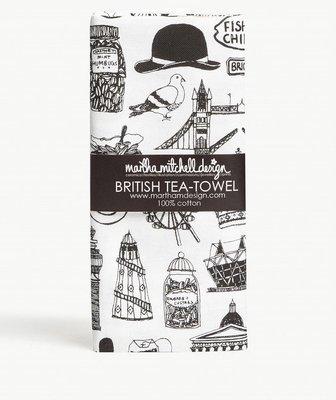 英國MARTHA MITCHELL British cotton tea towel英式 棉質茶巾(預購)