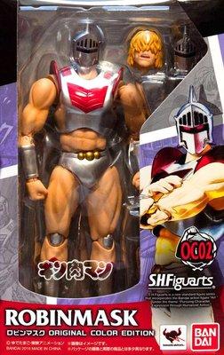 日本正版 萬代 S.H.Figuarts SHF 金肉人 筋肉人 羅賓假面 OCE 原色版 可動 模型 公仔 日本代購