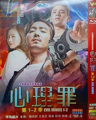高清DVD  心理罪 1-2季   /   陳若軒 王瀧正  / 警匪劇全場任選買二送一優惠中喔!!
