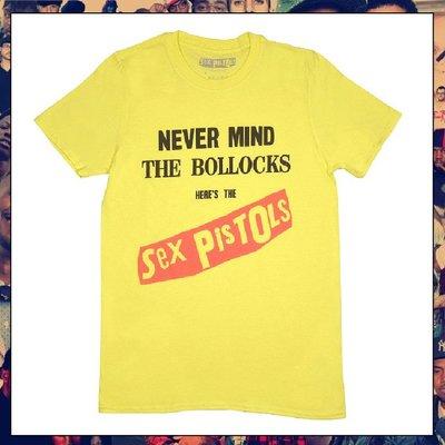 【三分之二】SEX PISTOLS Never Mind The Bollocks  //復古潮流/Tee