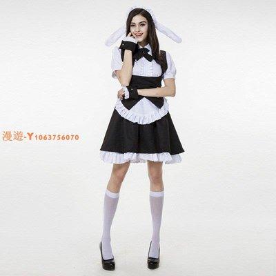 Cosplay動漫服裝 請問您今天要來點兔子嗎?女僕裝桐間紗路 理世A610
