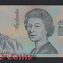 【Louis Coins】B648-AUSTRALIA --1992澳大利亞塑膠鈔票5 Dollars
