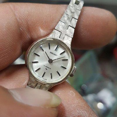 日本帶回 SEIKO 女錶 極品 機械錶 漂亮 非Rolex OMEGA LV CITIZEN ck mk wd iwc eta TELUX TITUS S1