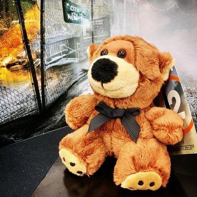 [裘比屋]特-PS4 湯姆克蘭西 全境封鎖 2 特典 泰迪熊 湯米 720