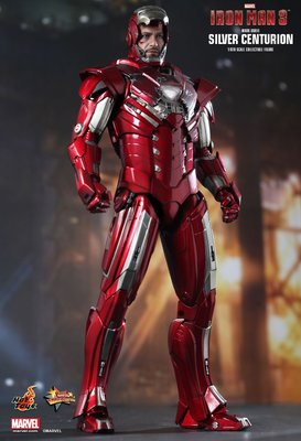 Hot Toys : IRON MAN 3 - Mark 33 SILVER CENTURION 1/6th scale Collectible Figure