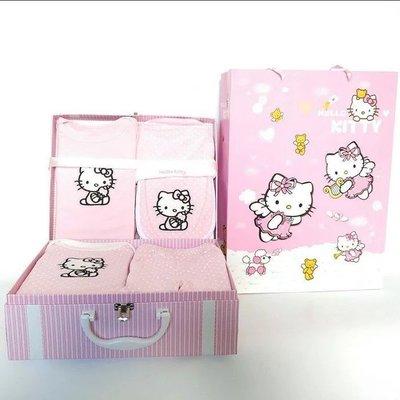 hello kitty新生兒嬰兒禮盒7...