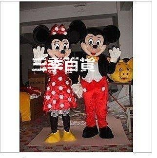 三季米老鼠卡通人偶服裝米奇米妮卡通人偶服裝 COS服裝❖887